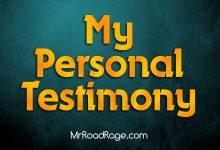 My Personal Testimony